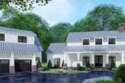 Country Style House Plan - 3 Beds 4 Baths 2687 Sq/Ft Plan #923-127