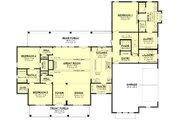 Farmhouse Style House Plan - 4 Beds 3.5 Baths 2989 Sq/Ft Plan #430-251
