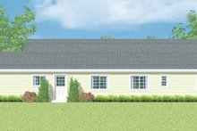 Home Plan - Ranch Exterior - Other Elevation Plan #72-1099