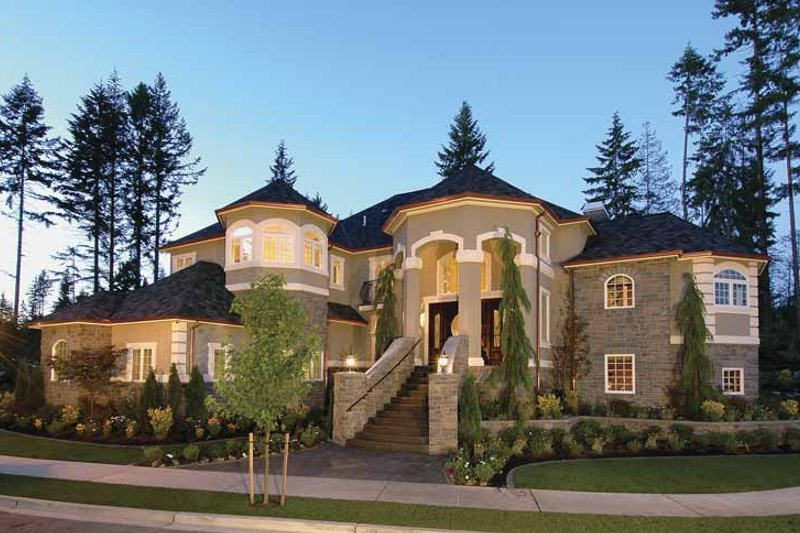 Country Exterior - Front Elevation Plan #132-483 - Houseplans.com