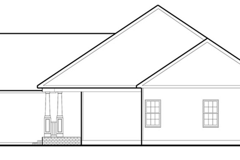 Colonial Exterior - Other Elevation Plan #1053-68 - Houseplans.com