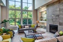 Architectural House Design - Prairie Interior - Family Room Plan #1066-72