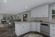Traditional Style House Plan - 3 Beds 2.5 Baths 1660 Sq/Ft Plan #1060-58 Interior - Kitchen