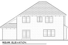 Dream House Plan - Traditional Exterior - Rear Elevation Plan #70-976