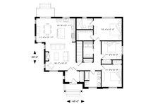 Craftsman Floor Plan - Main Floor Plan Plan #23-2667
