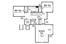 Cottage Floor Plan - Upper Floor Plan Plan #929-1104