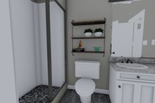 House Plan Design - Traditional Interior - Bathroom Plan #1060-97