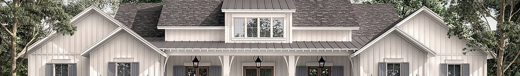 One Story 4 Bedroom House Plans, Floor Plans & Designs
