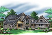 European Style House Plan - 3 Beds 2.5 Baths 3715 Sq/Ft Plan #51-370 Exterior - Other Elevation