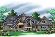Dream House Plan - European Exterior - Other Elevation Plan #51-370
