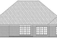 Dream House Plan - Traditional Exterior - Rear Elevation Plan #21-179
