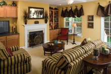 Classical Interior - Family Room Plan #929-679