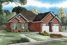 Country Exterior - Front Elevation Plan #17-2658