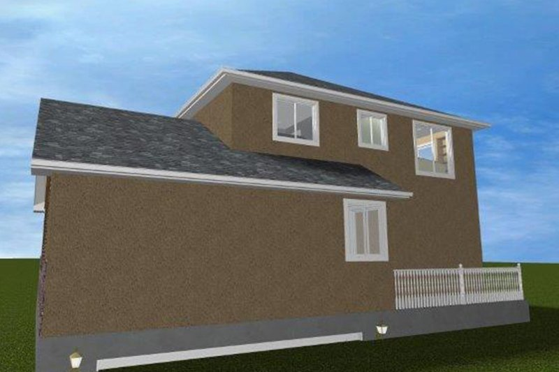 Traditional Exterior - Other Elevation Plan #1060-19 - Houseplans.com