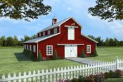 Traditional Style House Plan - 1 Beds 1 Baths 2358 Sq/Ft Plan #21-389