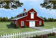 Traditional Exterior - Front Elevation Plan #21-389