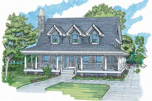House Design - Victorian Exterior - Front Elevation Plan #47-907
