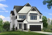 Craftsman Style House Plan - 4 Beds 3.5 Baths 3164 Sq/Ft Plan #1057-19