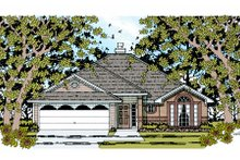 Architectural House Design - Traditional Exterior - Front Elevation Plan #42-355