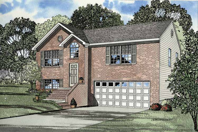 Dream House Plan - Colonial Exterior - Front Elevation Plan #17-3235