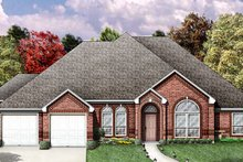 Dream House Plan - Traditional Exterior - Other Elevation Plan #84-196