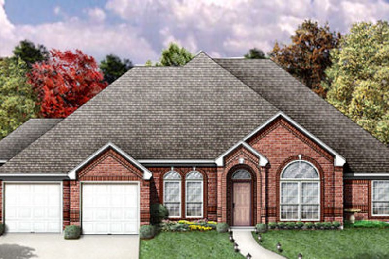 Traditional Exterior - Other Elevation Plan #84-196 - Houseplans.com