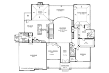 Traditional Floor Plan - Main Floor Plan Plan #437-73