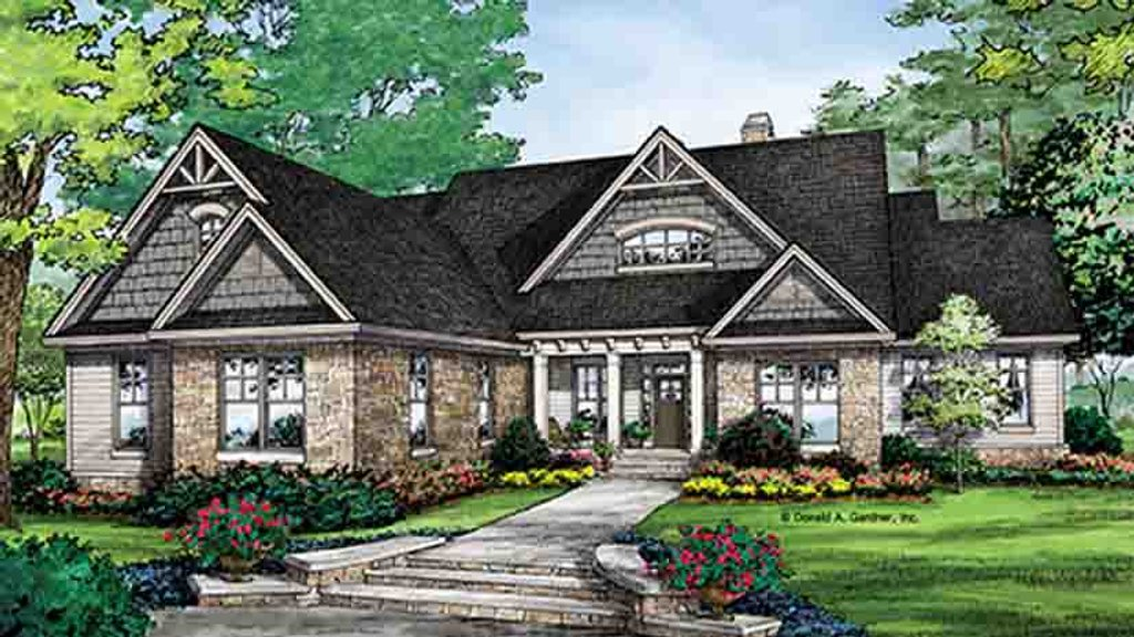 Craftsman style house plan 4 beds 3 baths 2966 sq ft for Weinmaster house plans