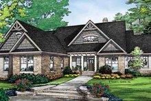 House Plan Design - Craftsman Exterior - Front Elevation Plan #929-968