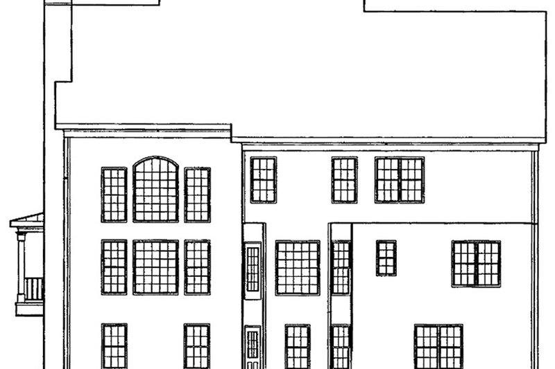 Country Exterior - Rear Elevation Plan #927-153 - Houseplans.com