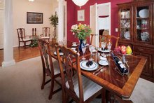 Country Interior - Dining Room Plan #929-191