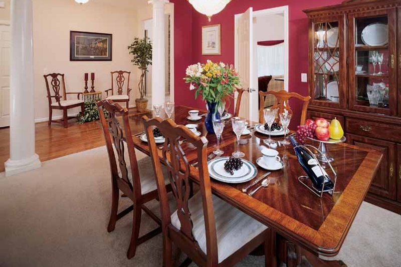 Country Interior - Dining Room Plan #929-191 - Houseplans.com