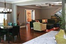 Prairie Interior - Family Room Plan #928-248