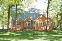 House Plan Design - Craftsman Exterior - Rear Elevation Plan #927-133
