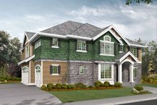 Dream House Plan - Craftsman Exterior - Front Elevation Plan #132-374