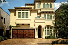 House Plan Design - Mediterranean Exterior - Front Elevation Plan #1021-13