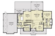 Farmhouse Style House Plan - 4 Beds 3.5 Baths 3075 Sq/Ft Plan #1070-55 Floor Plan - Main Floor Plan