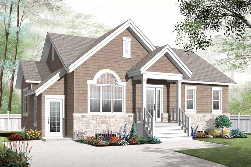 House Plan Design - Colonial Exterior - Front Elevation Plan #23-2522