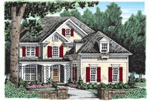 Architectural House Design - Country Exterior - Front Elevation Plan #927-913
