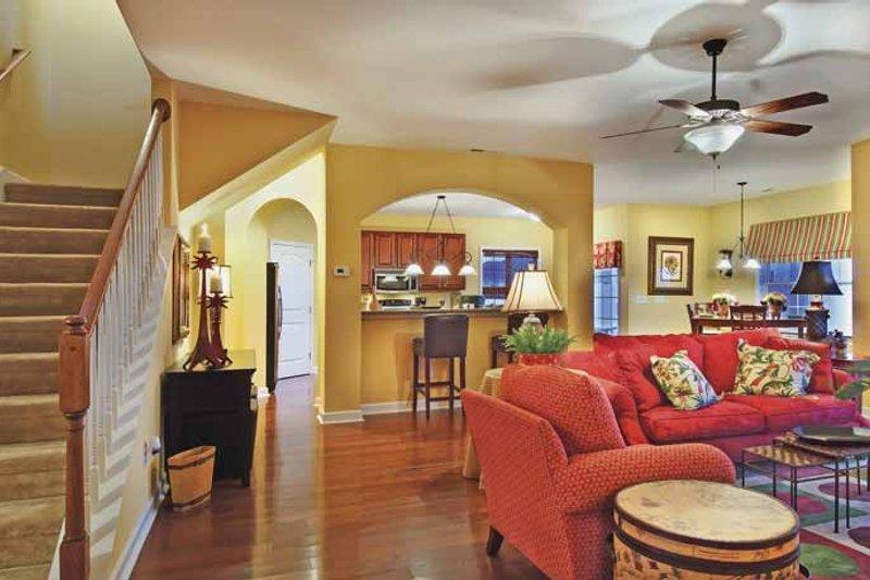Classical Interior - Family Room Plan #930-372 - Houseplans.com