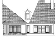 Country Style House Plan - 3 Beds 2.5 Baths 2457 Sq/Ft Plan #17-2268 Exterior - Rear Elevation