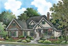 Craftsman Exterior - Front Elevation Plan #929-783