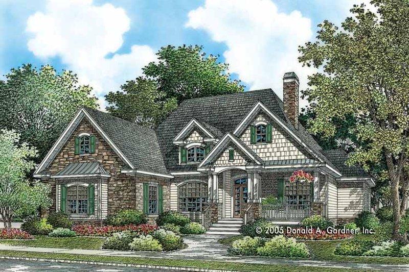 Craftsman Exterior - Front Elevation Plan #929-783 - Houseplans.com