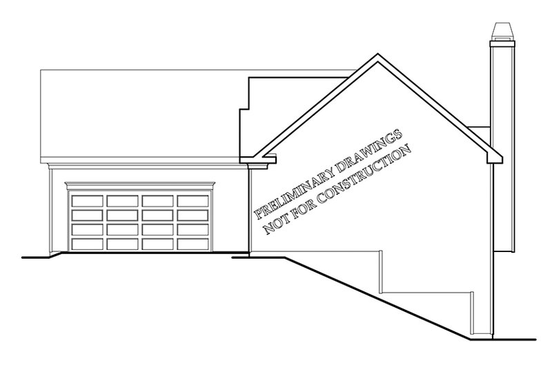 Ranch Exterior - Other Elevation Plan #927-678 - Houseplans.com