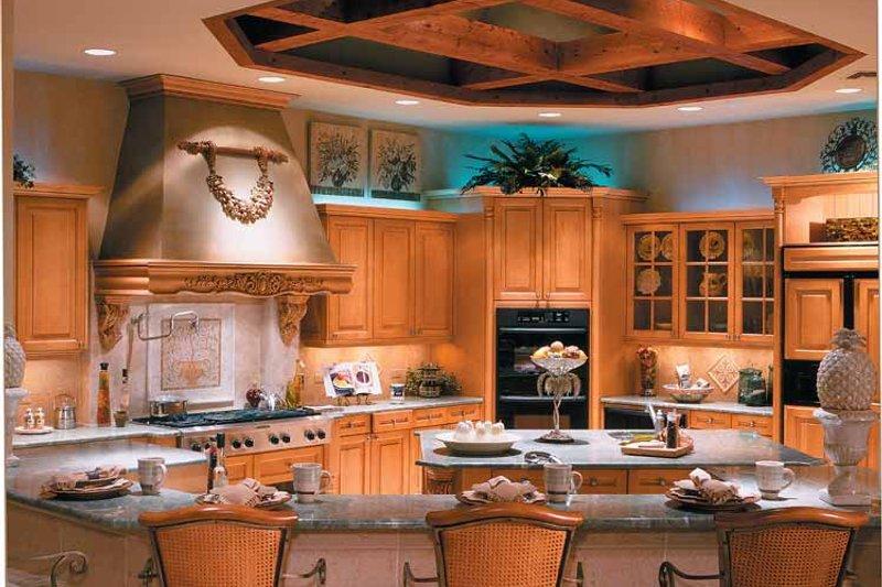 Mediterranean Interior - Kitchen Plan #930-330 - Houseplans.com