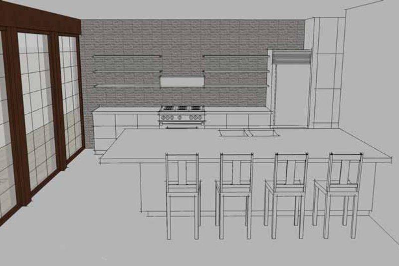 Contemporary Interior - Kitchen Plan #64-308 - Houseplans.com