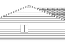 Craftsman Exterior - Other Elevation Plan #943-45