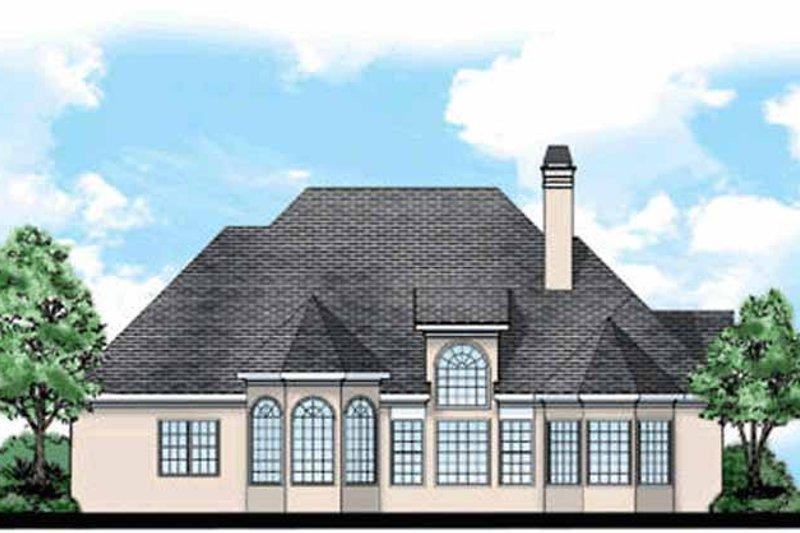 Country Exterior - Rear Elevation Plan #927-67 - Houseplans.com