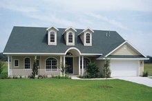Ranch Exterior - Front Elevation Plan #417-648