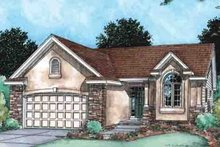 House Plan Design - European Exterior - Front Elevation Plan #20-1507